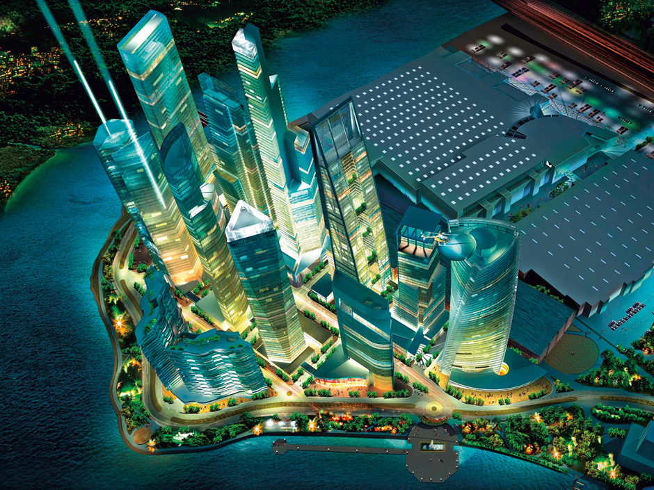 Residential and Business Complex at Crocus City
